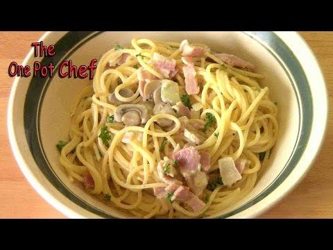 Pasta Boscaiola | One Pot Chef