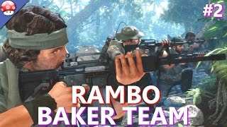 Rambo The Video Game: Baker Team Walkthrough Part 2 PC Gameplay (60fps/1080p) (Lets Play Baker Team)