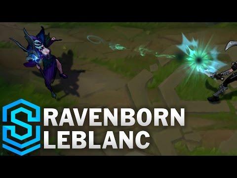 Ravenborn LeBlanc Skin Spotlight - Assassin Update 2016 - League of Legends