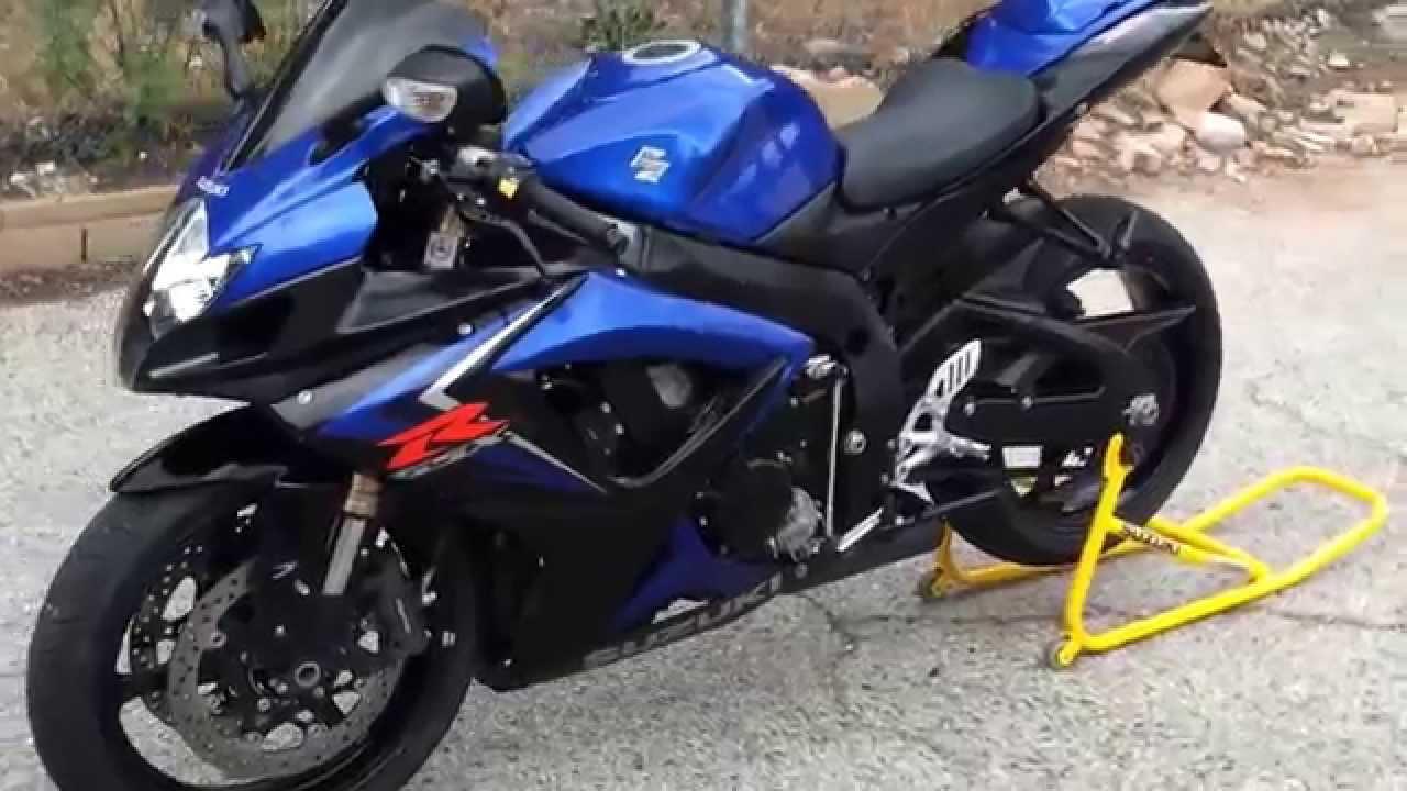 Blue Suzuki Gsxr