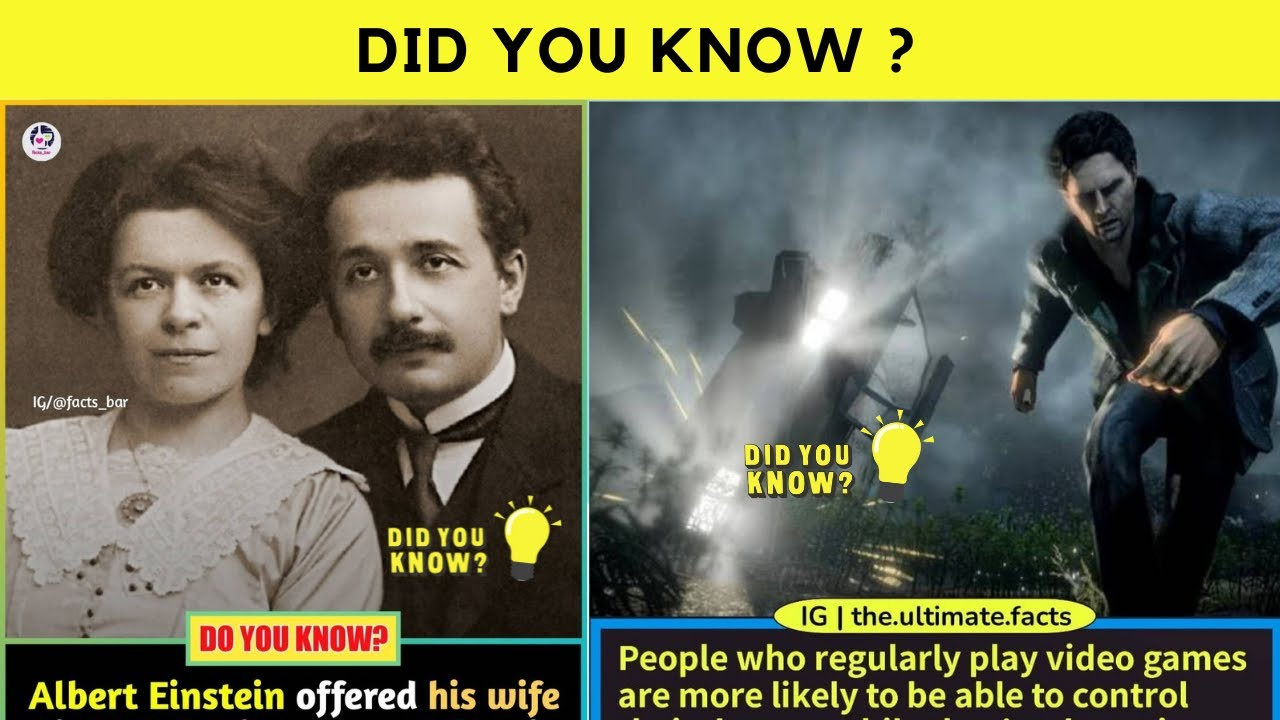 Unseen Facts Which Might Shock You 😲 | Did You Know ? | Did You Know Facts | Amazing Facts