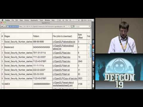 DEF CON 19 - Andrew Gavin - Gone in 60 Minutes: Stealing Sensitive Data