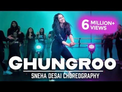 ghungroo-|-war-|-hrithik-roshan-|-sneha-desai-choreography