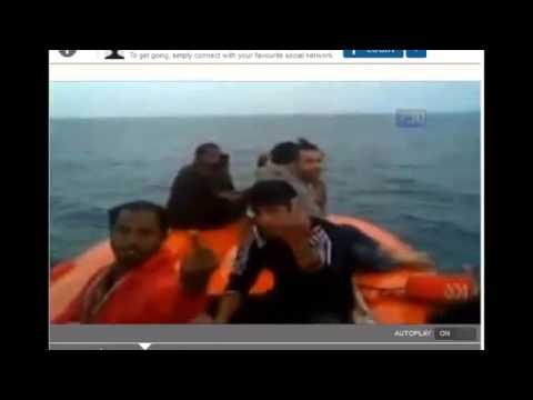 Image result for Immigrants turned back by the Australian navy were filmed yelling fuck Australia, remember 9 11