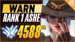 BEST OF WARN - TΗE ASHE GOD | Overwatch Ashe Montage
