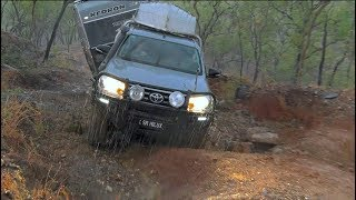 GALL BOYS MAYTOWN ADVENTURE - Winching into the night on the Old Coach Road - 4x4 offroad 4wd