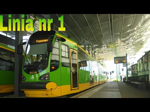 MPK Poznań | Linia 1 | Moderus Beta