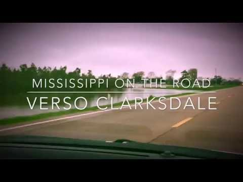 Mississippi on the road, verso Clarksdale