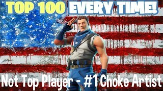 Fortnite: 4th of July - Not Top Player - #1 Choke Artist - Family Friendly (Xbox One)