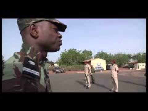 General Gilbert Diendere Addresses Burkinaba Soldiers