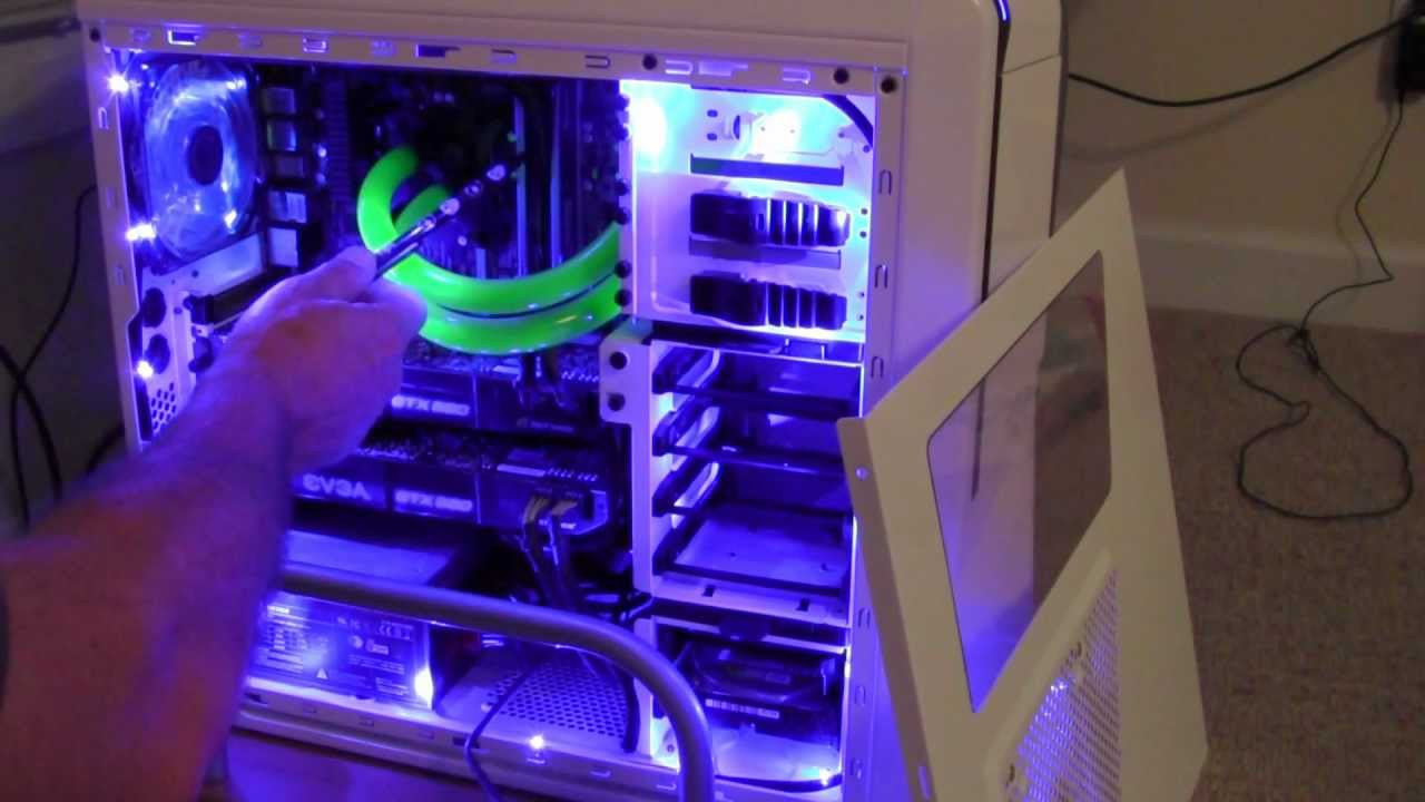 My Liquid Cooled Computer Build 2012 In Full Hd Youtube