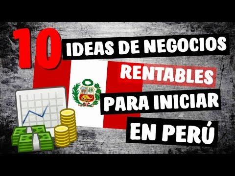✔ 10 Ideas de Negocios Rentables en PERÚ este 2018