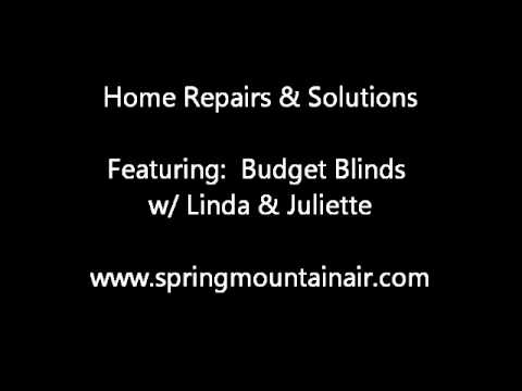 Home Repairs & Solutions - Budget Blinds