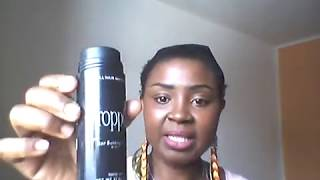 Toppik hair Building Fibers Black , don't buy !!!