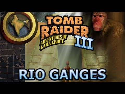 Tomb Raider 3 Vídeo-Guía en Español India - Río Ganges (River Ganges)