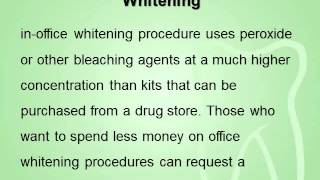 Cosmetic Dentists and Dental Whitening Thumbnail