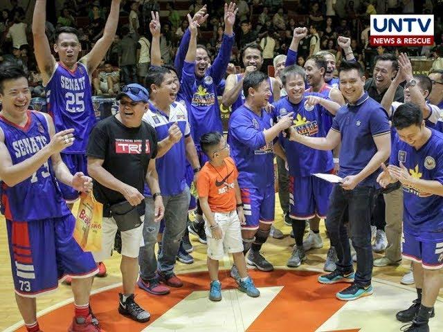 Senate at Malacañang-PSC,  magtutuos sa finals ng UNTV Cup