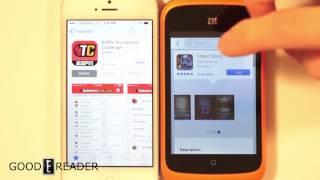 Firefox OS vs iOS Comparison