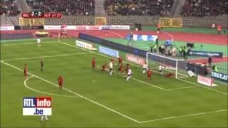 Belgique Autriche un 4 4 spectaculaire en vidéo RTL Sport