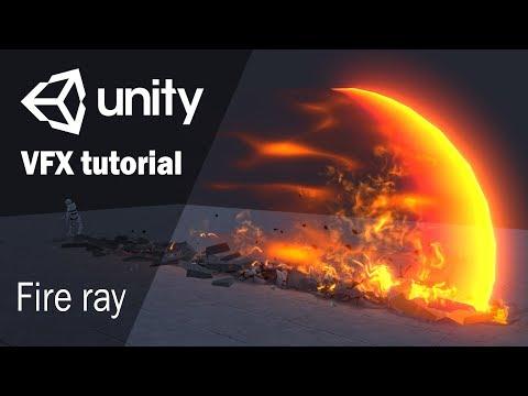 Урок по созданию эффекта огненного луча | Unity 2018.1
