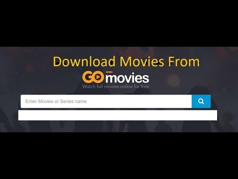 how to download video from gostream