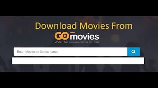 Download Movies From gomovies co || gostream.is || 123movies.to