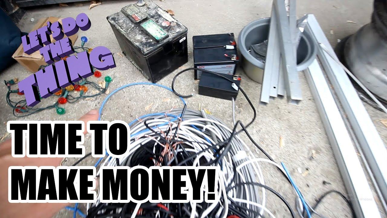 Making Money With Scrap Metal From Garbage - Been Gone Too Long ...