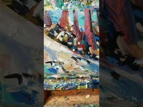 Oil Painting Demo! Art Talk Session, Impressionism, Modern Artist JOSE TRUJILLO