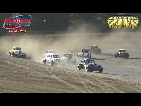 Dacotah Speedway INEX Legend Heats (7/26/19)
