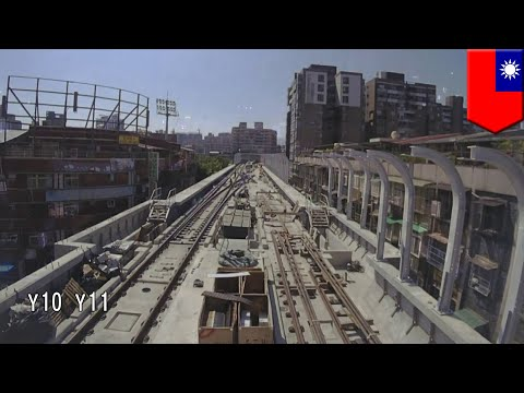 Track tests begin as Taipei's metro circular line stage 1 construction nears completion - TomoNews