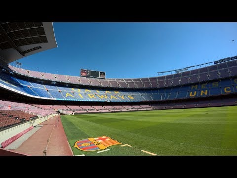 Camp Nou Experience 2017 Full Walkthrough
