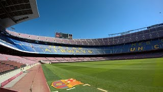 One of the most famous and iconic football stadiums in world - camp nou barcelona (opened 1957, capacity: 99 354) experience: tour & museu...