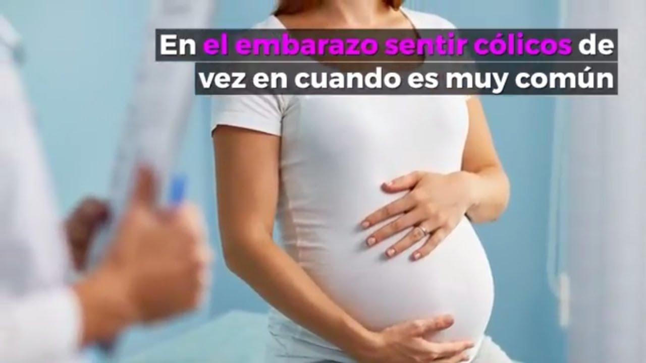 Porque dan colicos en el embarazo
