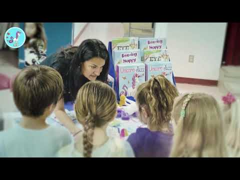 Literacy Night at Bathgate Elementary School with Unicorn Jazz Author Lisa Caprelli
