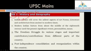 Modern History Of India || Syllabus and Weightage || UPSC Prelims and Mains | APPSC TSPSC Group 1, 2