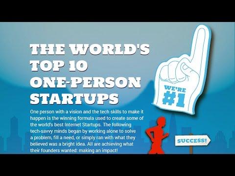 Online Clock's Top 10 One-Person Start-Ups