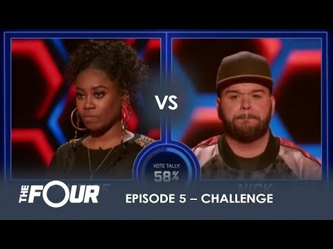 Candice vs Nick: He ASKS For a FIGHT And He GETS ONE!   S1E5   The Four