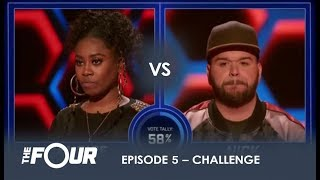 Download lagu Candice vs Nick He ASKS For a FIGHT And He GETS ONE S1E5 The Four