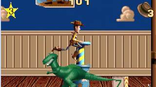 toy story 1 action game gameplay