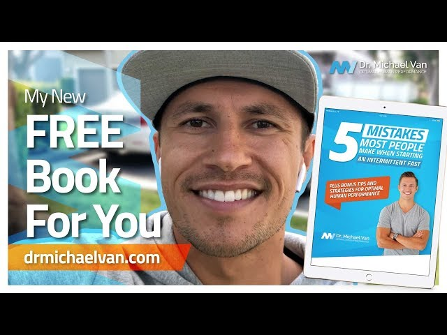 My NEW Intermittent Fasting Book, FREE For You!