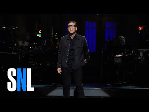 Fred Armisen One Man Show Monologue - SNL