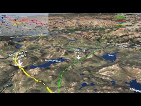 Statens vegvesen - E39 Lyngdal vest-Sandnes- ny veglinje Moi-Bue