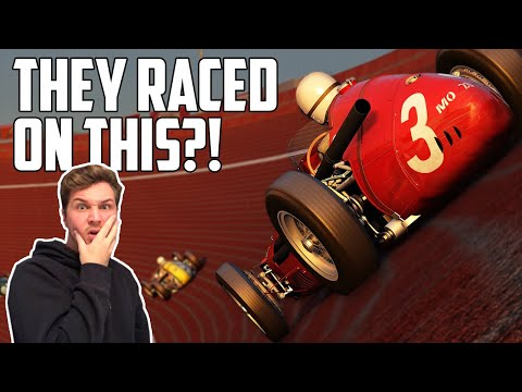 When Formula 1 ACTUALLY Raced On Ovals! - 1938 Avus Racetrack On Assetto Corsa |