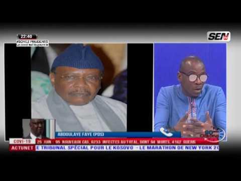 Emouvant témoignage de Abdoulaye Faye à Serigne Pape Malick Sy