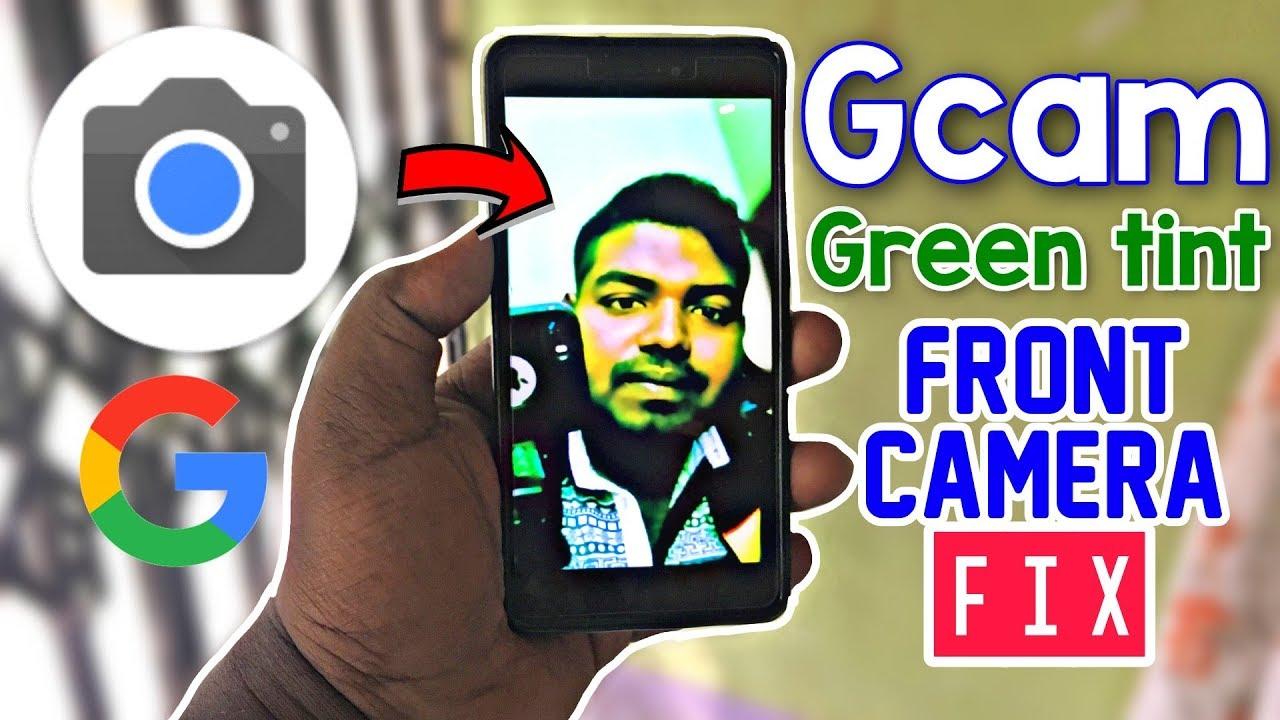 Gcam Front Camera Green Tint Fix: Google Camera Portrait Mode (Hindi)