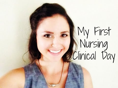 My First Nursing Clinical Day Experience (I almost fainted!)