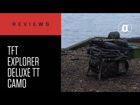 CARPologyTV - Total Fishing Tackle Fox Explorer Deluxe Camo Barrow Review