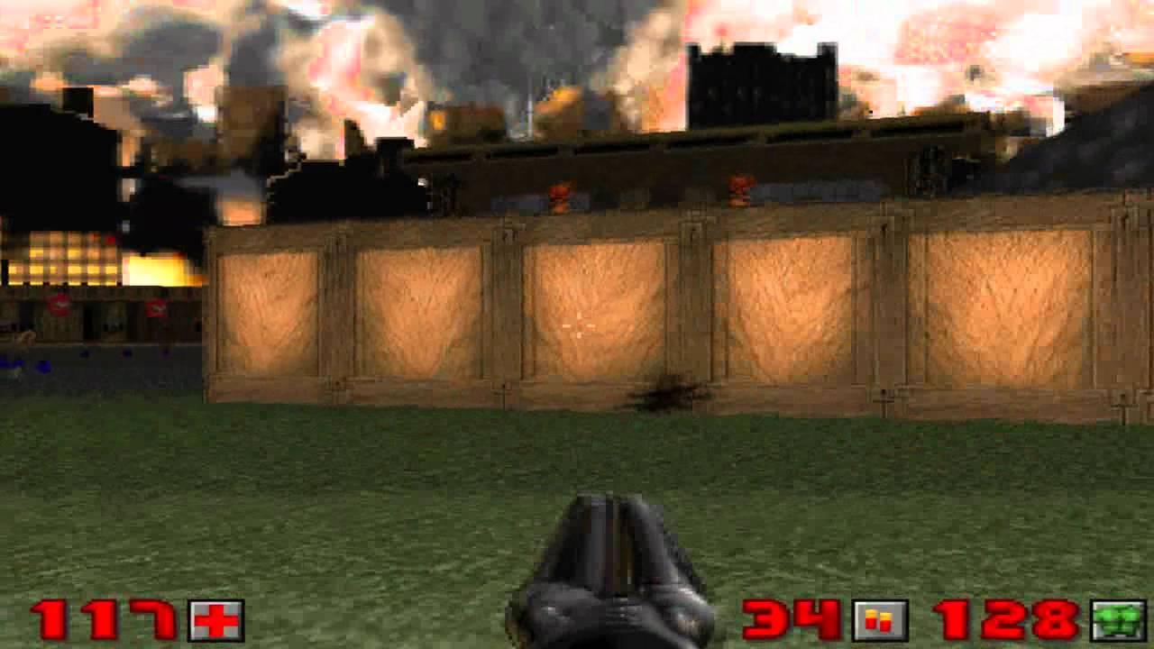 Doom 2 - Level 18 ( All Secrets )