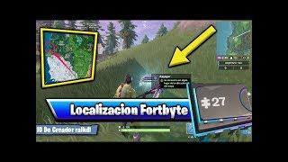Fortbyte 27 Se Encuentra Oculto en Algun Lugar de la Ubicacion de a4 en el mapa Fortnite