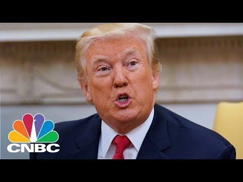 President Donald Trump Retweets Anti-Muslim Videos From Far-Right British Group   CNBC thumbnail